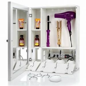 rangement accessoire cheveux With salle de bain design avec malette décors maçonniques