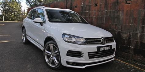 Volkswagen Touareg V10 Tdi Towing Capacity by Volkswagen Touareg Review V8 Tdi R Line Caradvice