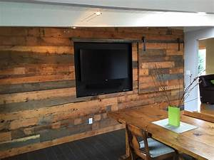 reclaimed wood wall cladding heritage salvage With barnwood tv wall