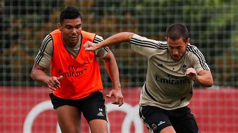 Real Madrid's Eden Hazard, Casemiro test positive for ...