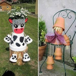 les 25 meilleures idees de la categorie pot en terre cuite With idees de jardin avec des galets 14 les meilleures idees de cadeaux 224 faire soi meme pour la