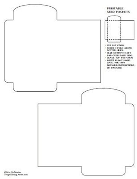 seed packet template 27 free printable recipe card sets seed packets template and envelopes