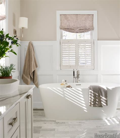 Gray Bathroom By Erin Paige Pitts  Neutral Bathroom Decor