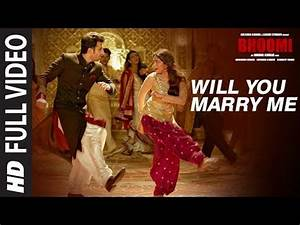 Will You Marry Me Full Video Song Bhoomi Aditi Rao