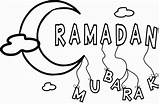 Ramadan Coloring Mubarak Mewarnai Raya Idul Hari Gambar Coloringdoo Fitri Onlycoloringpages sketch template