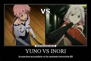 YUNO VS INORI | Desmotivaciones