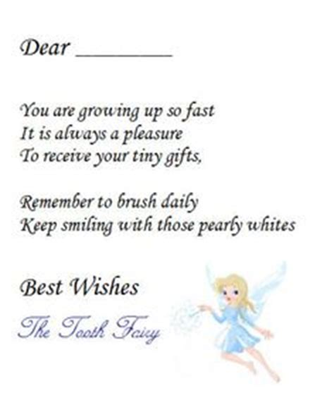 1000+ Images About Tooth Fairy Letters On Pinterest
