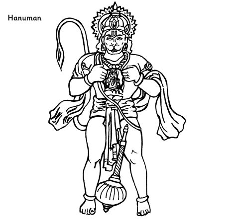 Coloring Drawing by Colour Drawing Free Hd Wallpapers Lord Hanuman Coloring
