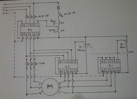 Wiring Diagram Star Delta Connection Phase Induction
