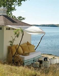 Canape Bois Exterieur : meubles en palette de bois 25 id es cr atives ~ Teatrodelosmanantiales.com Idées de Décoration