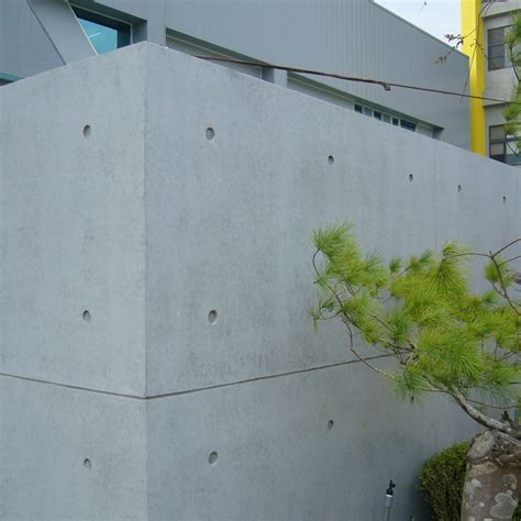 Exposed Concrete Effect System (ECES): Concrete Coating