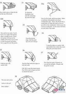 Origami Car Instructions Money Origami Car Easy Origami