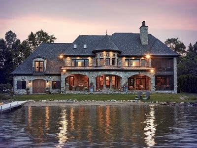 french country lake custom home design vanbrouck associates vanbrouck associates