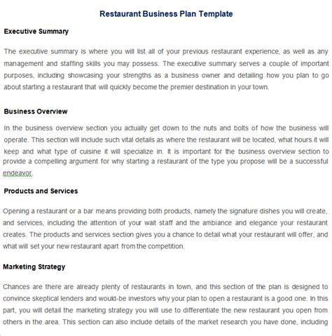 intro  restaurant strategic plan