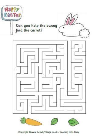 easter egg maze