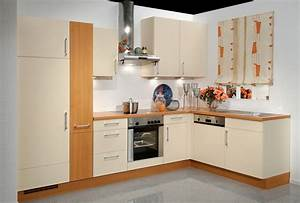 Modern kitchen interior design model with corner cabinet