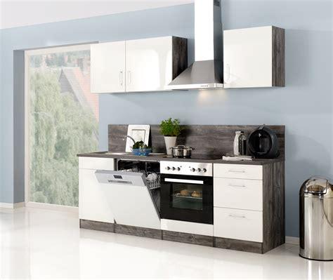 Küchenzeile Mit Elektrogeräten by K 252 Chenzeile Mit Elektroger 228 Ten Einbauk 252 Che K 252 Che Mit