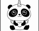 Unicorn Pandacorn Svg Coloring Panda Head Silhouette Cricut Sketchite Cut sketch template