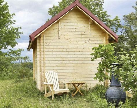 Backyard Log Cabin by Bundoo Win A Backyard Log Cabin Contest