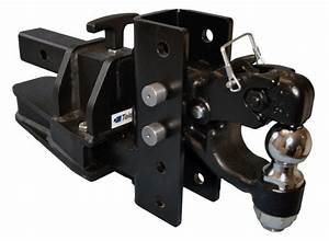 2015 Ram 2500 Adjustable Pintle Plate Provides Over 19 Of