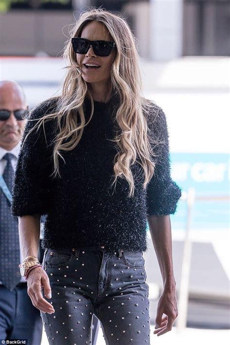 Elle Macpherson Returns Home Australia Daily Mail Online