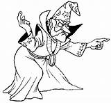 Coloring Magician Il Pages Bosco Del Coloringcrew Incantato Mago Colorear Ourboox Wizards sketch template