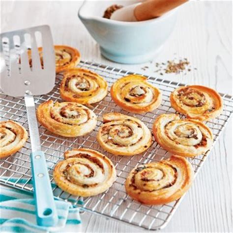 puff pastry canapes ideas these spiced palmiers are a crispy and spiced puff pastry canapé that is for
