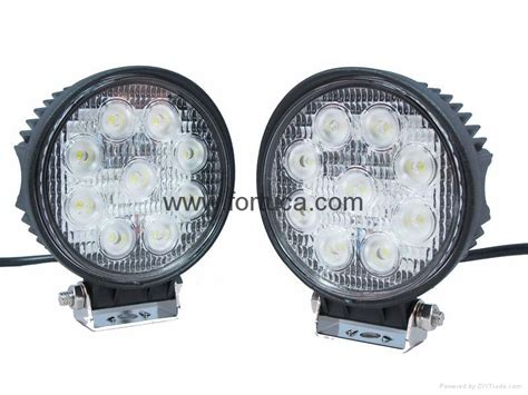 27w square led work l road atv lights 12v 24v auto