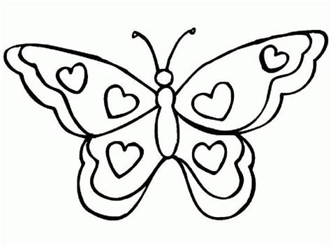 Colouring Pages Of Butterfly #19634