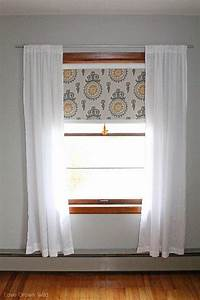 Fabric, Covered, Roller, Shades, With, Handmade, Tassel