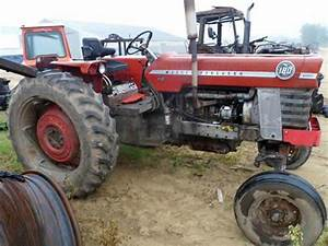 Massey Ferguson 180 Tractor Salvaged For Used Parts  All