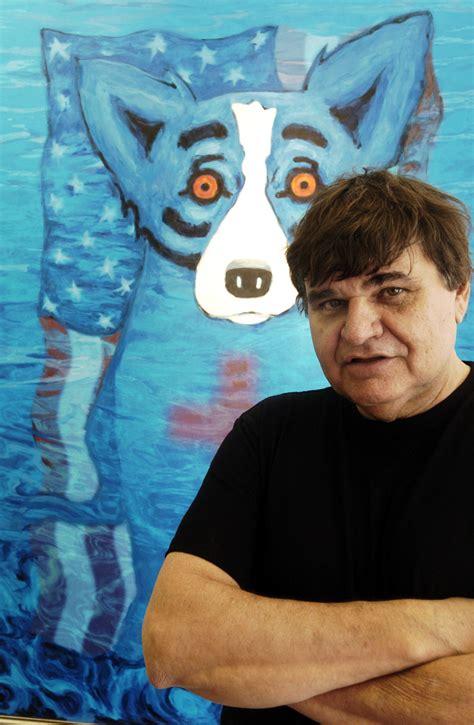 george rodrigue    blue dog paintings dies