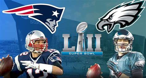 super bowl lii prediction patriots  eagles odds