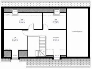Plan Maison A Etage : plan maison individuelle 3 chambres 23 habitat concept ~ Melissatoandfro.com Idées de Décoration