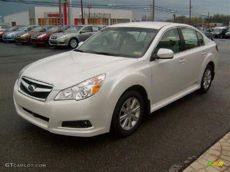 2011 Subaru Legacy 2 5i Premium Specs by Satin White Pearl 2011 Subaru Legacy 2 5i Premium Exterior