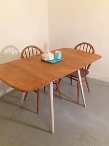 Table à Manger Pliante : general store paris table manger vintage par ercol table manger pliante vintage 1960 s ~ Teatrodelosmanantiales.com Idées de Décoration
