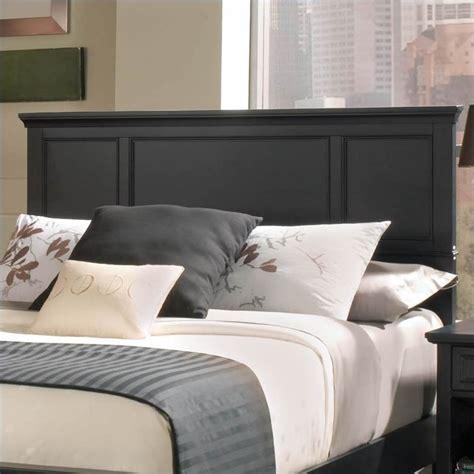 queen wood panel headboard  piece bedroom set  ebony