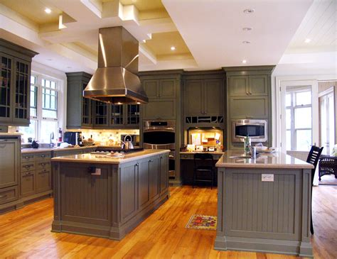 kitchen with two islands is your cottage kitchen ready for a breakfast crowd my 2 cents on design