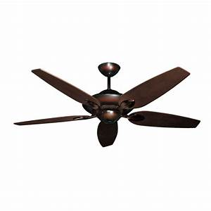 Ceiling lighting fan no light with remote hugger