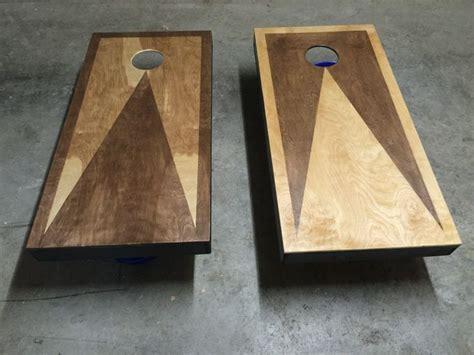 custom stained cornhole boards cornhole boards
