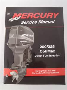 Used Mercury Outboards 200  225 Optimax Dfi Factory Service