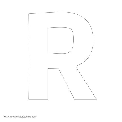 large letter templates large block letters template learnhowtoloseweight net