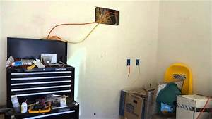 Wiring 110  120 220  240 In Garage Or Shop With In Wall