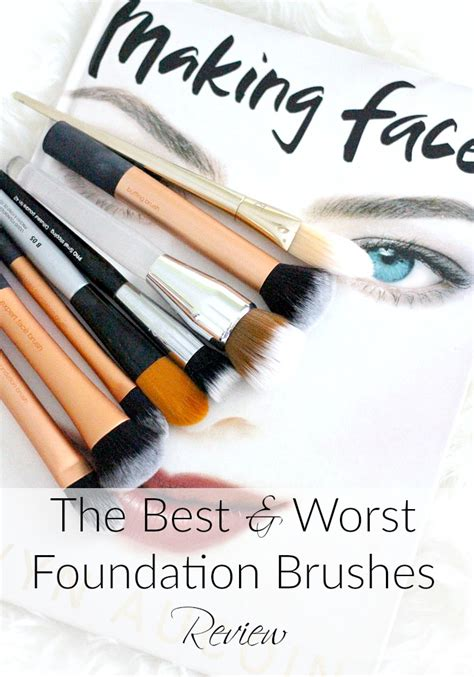 The Best & Worst Foundation Brushes  Review Everyday