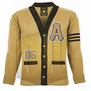 Doom wear designs for Cornell letter sweater