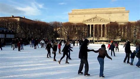 ice skating rink washington dc national gallery  art