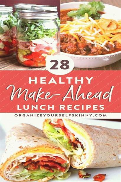 Recipes Healthy Prep Meal Ahead Lunch Busy