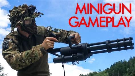 Airsoft Minigun Destroys Everyone