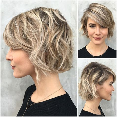 cute short bob hairstyle with bangs 2017 styles weekly