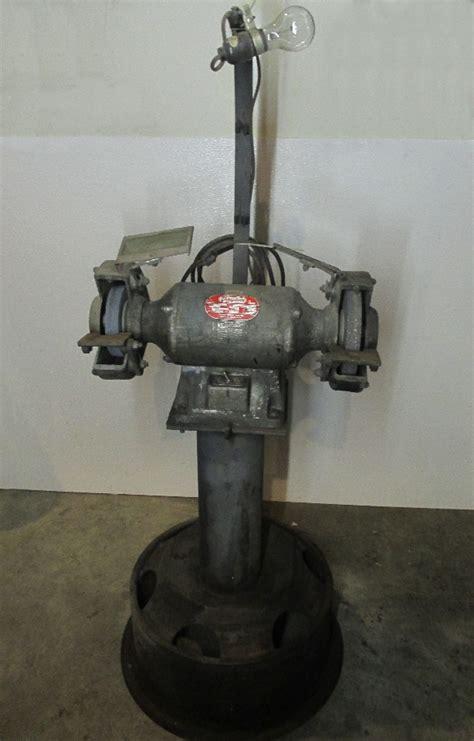 dayton bench grinder 8 quot dayton 4z909a 3 4 hp bench grinder with pedestal ebay